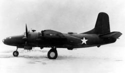 Airplane Picture - Side view of the North American XB-28.