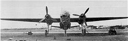 Airplane Picture - Focke-Wulf Fw 191 Front View