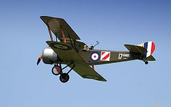 Airplane Picture - A replica Sopwith 1� Strutter flying at a 2006 air show