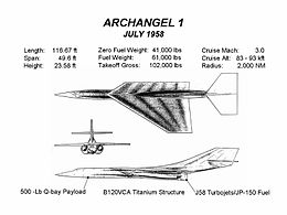 Airplane Picture: Archangel 1 design (July 1958)