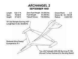 Airplane Picture: Archangel 2 design (September 1958)