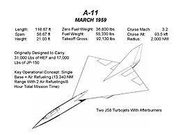Airplane Picture: A-11 design (March 1959)