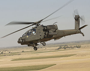 Warbird Picture - A radar-less AH-64D Longbow Apache from U.S. Army's 101st Aviation Regiment in Iraq