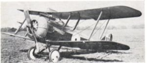Warbird Picture - A standard production DH.5