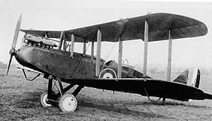 Warbird Picture - Airco D.H.9