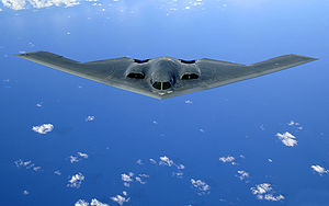 Warbird Picture - A USAF B-2 Spirit in flight