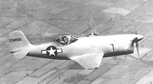 Warbird Picture - Bell XP-77