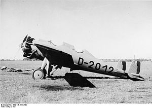 Warbird Picture - Junkers A 48 dy