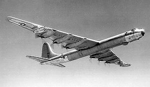 Warbird Picture - The B-36D used both piston and jet engines.