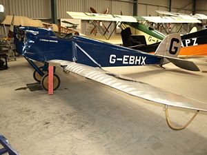 Warbird Picture - DH.53, G-EBHX, at the Shuttleworth Collection