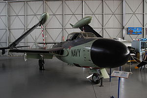 Warbird Picture - Sea Venom (WZ931) at the South Australian Aviation Museum, Port Adelaide