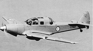 Warbird Picture - Prototype DH.93 in flight c. 1937