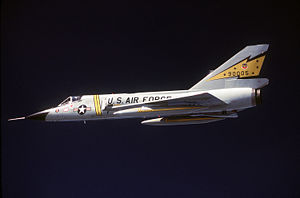Airplane Picture: Convair F-106A Delta Dart of the 5th Fighter Interceptor Squadron