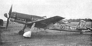 Warbird Picture - British-captured Ta 152 H-1, Werknummer 150168, scrapped 1946.