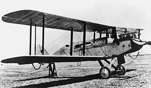 Warbird Picture - Australian registered DH.9C G-AUED c.1923