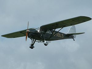 Warbird Picture - de Havilland DH.80A Puss Moth G-ABLS first registered in 1931