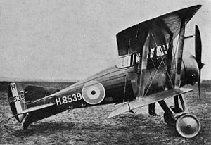 Airplane Picture - GLoster Nightjar