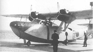 Warbird Picture - Aichi H9A1 Navy Type 2 Training Flying Boat