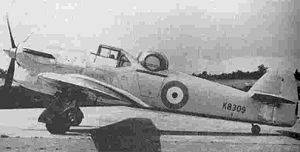 Warbird Picture - Hawker Hotspur (BAE Systems photo)