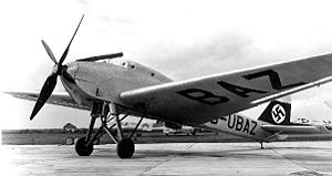 Warbird Picture - Ju 49 with the L88a engine, the latter recognisable by its exhaust stack