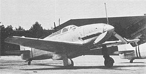 Warbird Picture - The first of three prototype KI-60s.