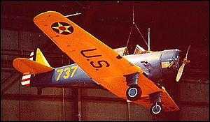 Warbird Picture - NA-64 Yale standing in for a BT-14 at the National Museum of the United States Air Force, Dayton, Ohio