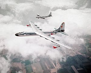 Warbird Picture - Convair NB-36H flying nuclear reactor testbed