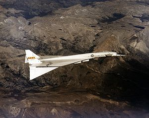 Warbird Picture - XB-70 of Dryden Flight Research Center in 1968