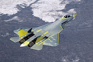 Warbird Picture - PAK FA T-50 prototype on the day of its first flight