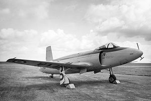 Supermarine Attacker - Warbird Airplane Picture