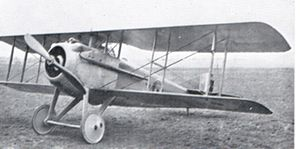 Warbird Picture - British-buit SPAD SVII of the RFC