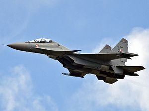 Warbird Picture - A Su-30MKI of the Indian Air Force.