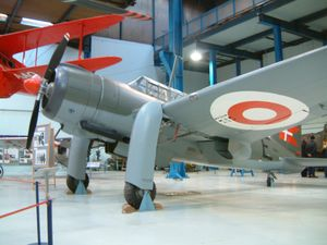 Warbird Picture - Saab B 17A in Danish colors.