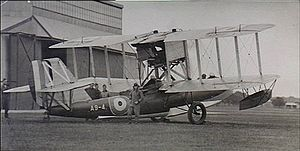 Warbird Picture - Australian Seagull III at RAAF Base Richmond circa. 1928