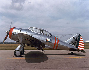 Warbird Picture - P-35 (36-0404) marked as P-35A at the National Museum of the USAF