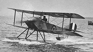 Warbird Picture - The Sopwith Schneider. The aircraft in the photograph is similar to the Schneider Trophy aircraft which, piloted by Howard Pixton, won the 1914 Schneider Trophy in Monaco.