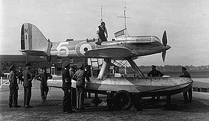 Warbird Picture - Flt Lt O E Worsley and the S5