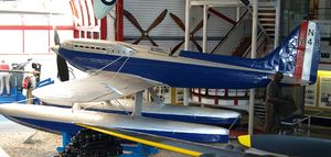 Warbird Picture - Supermarine S.6A, N248 on display at the Solent Sky museum.