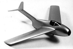 Warbird Picture - Wind tunnel model