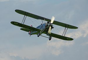 Warbird Picture - Shuttleworth's Tomtit G-AFTA at Old Warden
