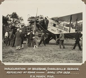 Airplane Picture - Inauguration of DH.61