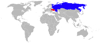 Airplane Picture - Sukhoi Su-33 Operators. Dark blue are current operators; red, former.