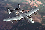 Airplane Pictures - USAF A-10A Thunderbolt II
