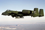 Airplane Pictures - USAF A-10 Thunderbolt II from 1975