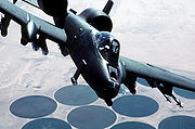Airplane Pictures - USAF A-10A during Desert Storm