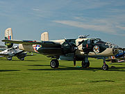 Airplane Pictures - B-25J warbird