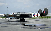 Airplane Pictures - B-25J in 98 RAF Squadron markings