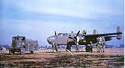 Airplane Pictures - A B-25C being refueled