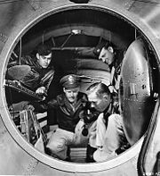Airplane Pictures - Interior photo of the rear pressurized cabin of the B-29 Superfortress, June 1944