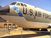 airplane pictures - Converted RB-52B to B-52B Balls 5 at Wings Museum.
